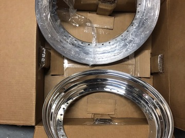 Selling: 17inch BBS RS  2.5lips  34 hole Brand new