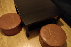 Myydään: Ikea Coffee table with two pods