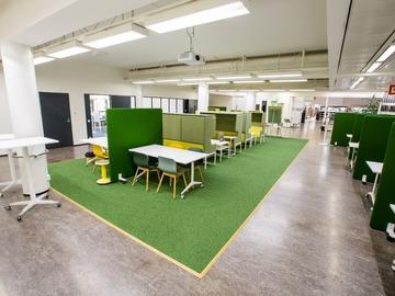 Workspace Profile: Yhteisöllinen työtila Tikkurilan kirjastossa (maksuton)