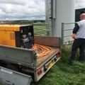 Daily Equipment Rental: Miller big blue diesel welder 400a