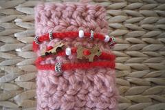 Vente au détail: Bracelet crochet et perles
