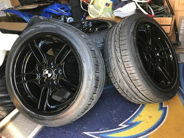 Selling: Style 66 E39 M package wheels