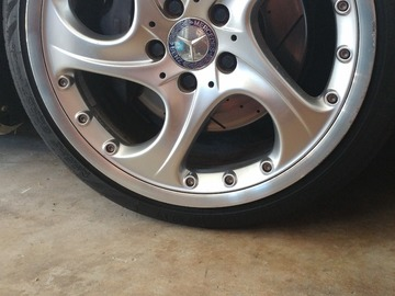 Selling: Mercedes Alioth 2piece wheels 5x112