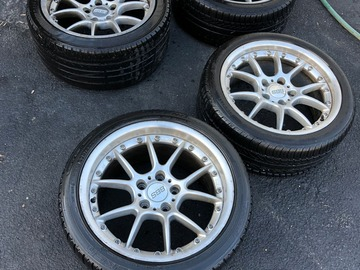 """Selling: BBS RK502 18"""" Wheels With Tires for BMW E31/E38/E39 5x120"""