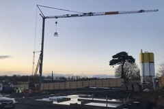 Daily Equipment Rental: Cranes for hire
