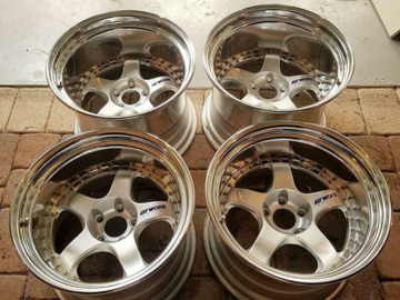 Selling: 18x12 & 18x13 | 5x114.3 | Work meister S1 3P