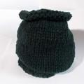 Sale retail: snood en laine acrylique vert sapin