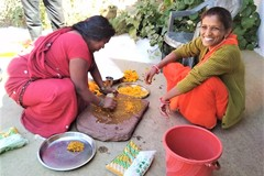 Request Meeting: Day out with Asha- Buy Natural Holi colors from Farmers!