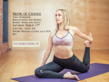 Sign Up: Brink of Change: Yoga Workshop