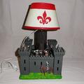 Vente au détail: lampe chateau fort