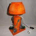 Vente au détail: lampe orange