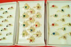 Sell: (480) Cubic Zircon Rings Royal Fashion