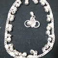 Sell: (46) Fashion Belly Dance Anklet Jingling Bells Silver-Tone
