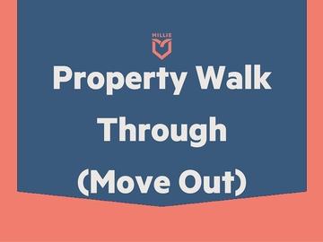 Service: Property Walk Through