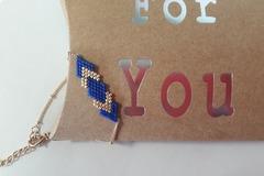 Vente au détail: Bracelet en perles de Miyuki Délicat