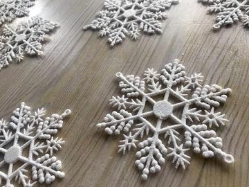 Ilmoitus: Lumihiutale-pöytäkoristeet