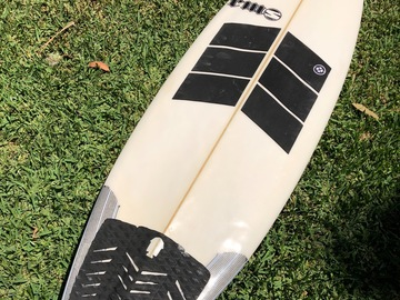 "Daily Rate: 5'11"" RMS Squelch Shortboard"
