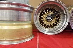 Selling: 16X11.5 | 5x130 | 3PC Porsche BBS RS wheels for sale