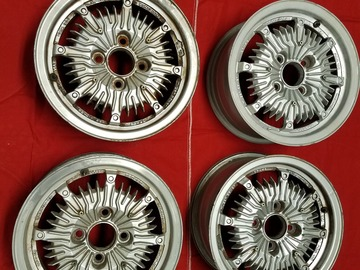 Selling: 13x5.5 | 4x100 | Mugen CF 48 wheels for sale