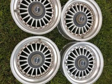 Selling: 15x6.5 | 4x114.3 | Work Ewing II Fins Emitz wheels for sale