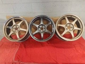 Selling: 18x8 | 5x100 | SSR Type C (3)wheels for sale