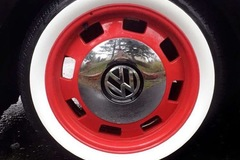 Selling: VW Heritage Wheels / White Wall Tires