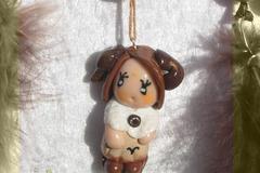 Vente au détail: Petit Attrape-rêves féerique figurine zodiaque bélier fille