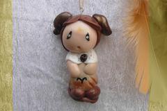 Vente au détail: Petit Attrape-rêves féerique figurine zodiaque bélier garçon
