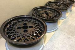 """Selling: 15"""" Rial Mesh wheels, 4x108"""