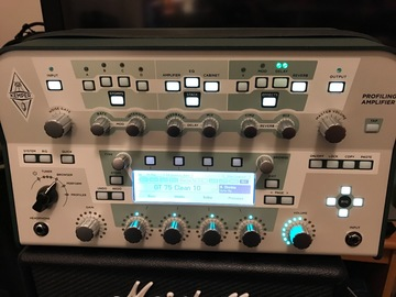 Renting out: Kemper Profiler Amp