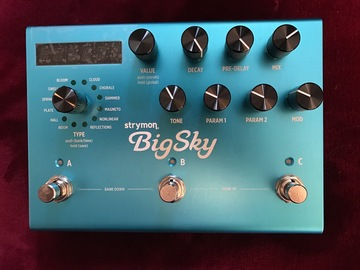 Renting out: Strymon BigSky Reverb pedal