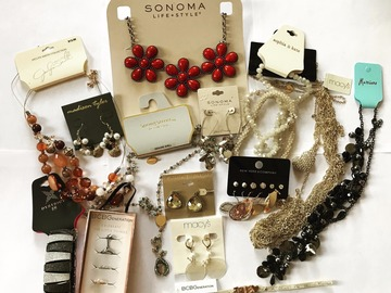 Buy Now: 300 pieces HIGH END DESIGNER JEWELRY- MACY'S -BCBG-GUESS