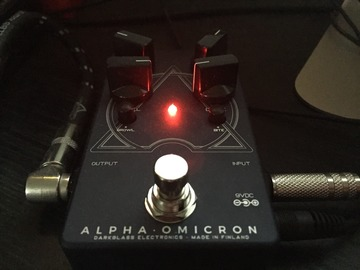 Renting out: Darkglass Electronics Alpha Omicron