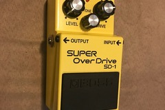 Renting out: Boss SD-1 Overdrive Pedal