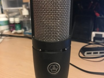 Renting out: AKG P220 Large Diaphragm Condenser Microphone