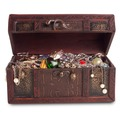 Liquidation Lot: 20 lbs TREASURE BOX  OF JEWELRY  - some broken - some good