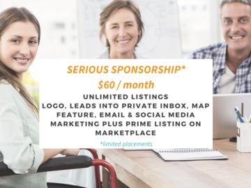 Sponsorship: SERIOUS SPONSORSHIP