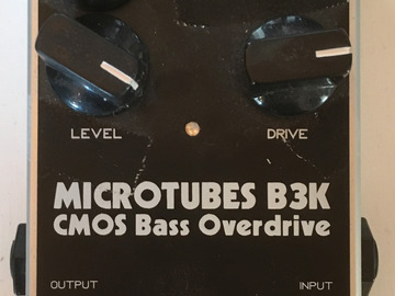 Renting out: Darkglass Electronics B3K Bass Overdrive