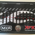 Renting out: MXR KFK 10-Band EQ Equalizer