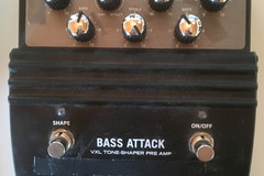 Renting out: Hartke Bass Attack Bass Overdrive / Preamp