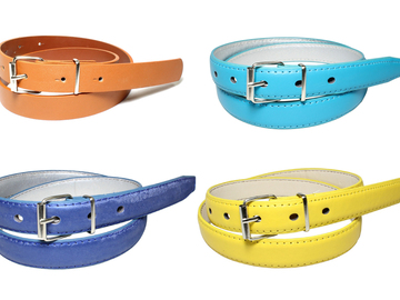 Buy Now: (360) Women PU Material Belts with Assorted Colors Styles