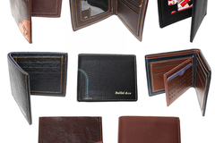 Sell: (84) Classic Bi-Fold Men PU Leather Credit Card Wallets