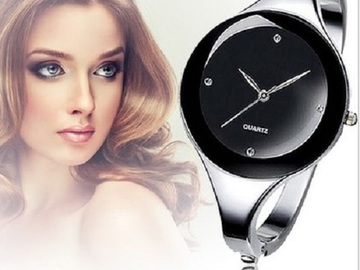 Buy Now: New Women's Bangle Watches with Elegant Crystal Accents