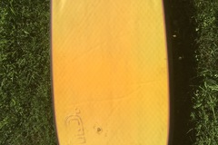 "Daily Rate: Old bodyboard 42"" and fins"