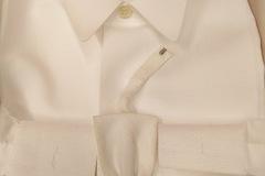 Myydään: White shirt for tailcoat - frakkipaita+rusetti size 41