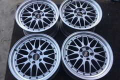 Selling: Rare BBS LM 17 9J&18 10J&Brand new tires