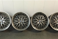 Selling: BMW E39 Fitment BBS LM-style wheels: 19x8.5/9 5x120