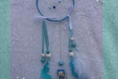 Sale retail: Petit Attrape-rêve féerique figurine zodiaque poisson garçon