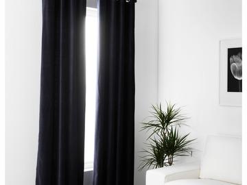 """Myydään:  SANELA Curtains, 1 pair - 55x98 """" - IKEA"""