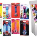 Bulk Lot: 96 ASSORTED LICENSED KIDS DIGITAL WATCHES